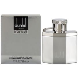 Dunhill Desire Silver Eau de Toilette voor Mannen 50 ml
