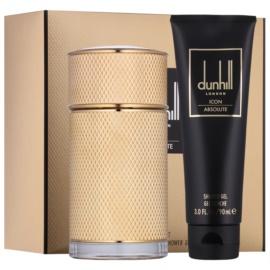 Dunhill Icon Absolute zestaw upominkowy I.  woda perfumowana 100 ml + żel pod prysznic 90 ml