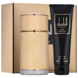 Dunhill Icon Absolute подаръчен комплект I.  парфюмна вода 100 ml + душ гел 90 ml
