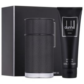 Dunhill Icon Elite zestaw upominkowy I.  żel pod prysznic 90 ml + woda perfumowana 100 ml
