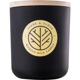 DW Home Black Suede & Clove lumânare parfumată  320,35 g cu fitil din lemn