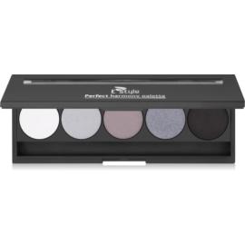 E style Perfect Harmony Palette paleta de sombras de ojos con un espejo pequeño tono 04 Smokey 9,5 g