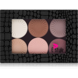 E style Magnetic Palette Oogschaduw Palette  Tint  01 Your Dream 6 x 6 gr