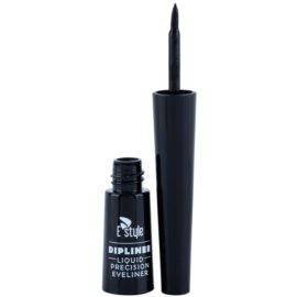 E style Dipliner течни очни линии цвят 01 Black 3 мл.