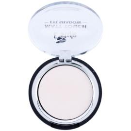 E style Matt Touch fard de ochi mat culoare 01 White Coffee 6 g