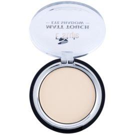 E style Matt Touch mat senčila za oči odtenek 02 Vanilla 6 g