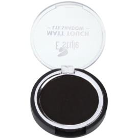 E style Matt Touch matné oční stíny odstín 05 Midnight Black 6 g