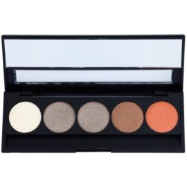 E style Perfect Harmony Palette paleta očních stínů se zrcátkem odstín 03 Gold Dreams 9,5 g