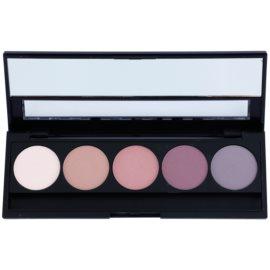 E style Perfect Harmony Palette paleta očních stínů se zrcátkem odstín 07 Purple Rain 9,5 g