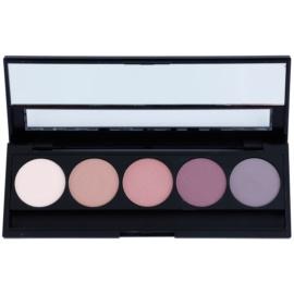 E style Perfect Harmony Palette paleta de sombras de ojos con un espejo pequeño tono 07 Purple Rain 9,5 g