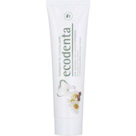 Ecodenta Kalident Zahnpasta für empfindliche Zähne Geschmack Chamomile/Clove 100 ml