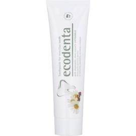 Ecodenta Kalident dentífrico para dentes sensíveis sabor Chamomile/Clove 100 ml