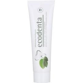 Ecodenta Kalident zobna pasta za beljenje zob za svež dah Mint Oil + Sage Extract  100 ml