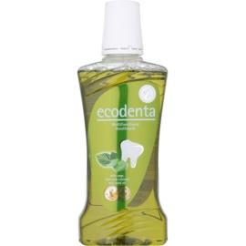 Ecodenta Sage & Aloe Vera & Mint Oil Mundwasser für frischen Atem und den Schutz des Zahnfleisches   480 ml