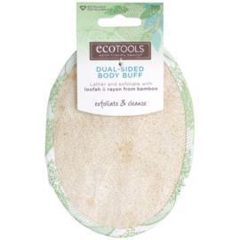EcoTools Bath & Shower esponja exfoliante para cuerpo doble cara  7111