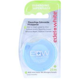 Edel+White Expanding Superfloss nić dentystyczna smak Mint 25 m