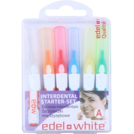 Edel+White Interdental Brushes mezizubní kartáčky 6 ks mix A (Starter-Set)