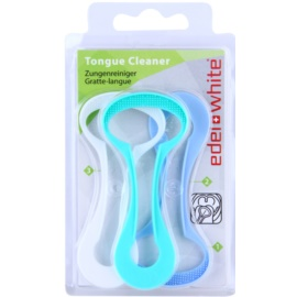 Edel+White Tongue Cleaner raspador de lengua 3 uds