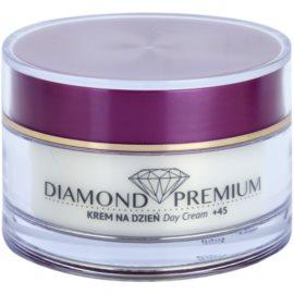 Efektima Institut Diamond Premium +45 Anti-Falten und Regenerationscreme SPF 10  50 ml