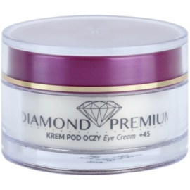 Efektima Institut Diamond Premium +45 Anti - Wrinkle Eye Cream To Treat Swelling And Dark Circles (Diamond Particles, Hyaluronic Acid, Collagen and Elastin, Dermochlorella, Shea Butter) 15 ml