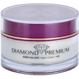 Efektima Institut Diamond Premium +45 nočna regeneracijska krema proti gubam  50 ml