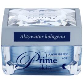 Efektima Institut Prime Skin +35 éjszakai krém a bőröregedés első jeleinek eltüntetésére  50 ml