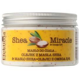 Efektima Institut Shea Miracle regenerační tělové máslo  250 ml