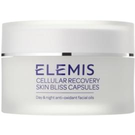 Elemis Advanced Skincare antioxidační pleťový olej na den a noc v kapslích  60 ks