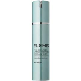 Elemis Anti-Ageing Pro-Collagen vyhlazující krém na krk a dekolt  50 ml
