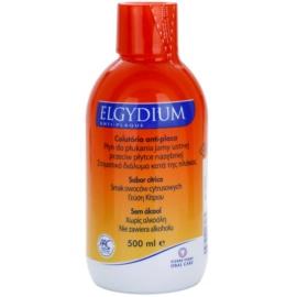 Elgydium Anti-Plaque Mundwasser gegen Plaque  500 ml