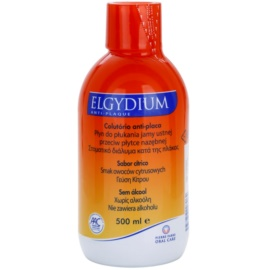 Elgydium Anti-Plaque ústní voda proti zubnímu plaku  500 ml