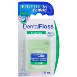 Elgydium Clinic Fluoride Zahnseide Geschmack Mint Flavor 35 m