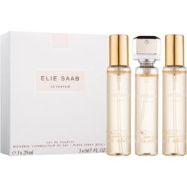 Elie Saab Le Parfum Gift Set  XV.  Eau de Toilette 3 x 20 ml