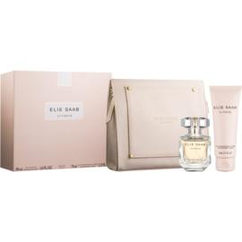 Elie Saab Le Parfum darčeková sada  parfémovaná voda 50 ml + telové mlieko 75 ml + kozmetická taška