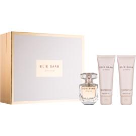 Elie Saab Le Parfum dárková sada II. parfemovaná voda 50 ml + tělové mléko 75 ml + sprchový krém 75 ml