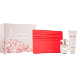 Elie Saab Le Parfum dárková sada XXV.  parfemovaná voda 50 ml + tělové mléko 75 ml + kosmetická taška