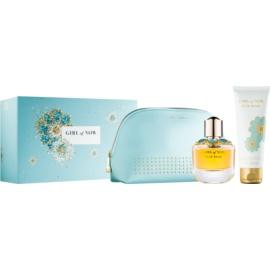 Elie Saab Girl of Now zestaw upominkowy II.  woda perfumowana 50 ml + mleczko do ciała 75 ml + kosmetyczka