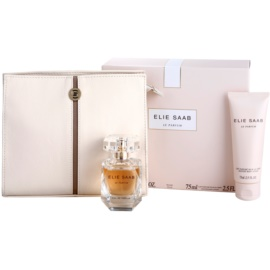 Elie Saab Le Parfum darčeková sada VII. parfémovaná voda 50 ml + telové mlieko 75 ml + kabelka