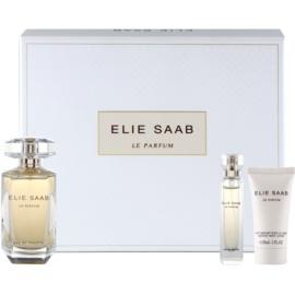 Elie Saab Le Parfum darčeková sada XVII. toaletná voda 90 ml + toaletná voda 10 ml + telové mlieko 30 ml