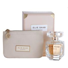 Elie Saab Le Parfum darčeková sada XIX.  parfémovaná voda 50 ml + púzdro