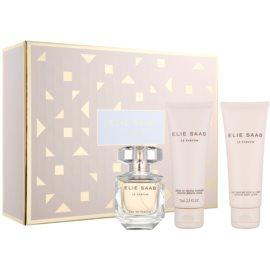 Elie Saab Le Parfum dárková sada XXIII.  parfemovaná voda 50 ml + tělové mléko 75 ml + sprchový krém 75 ml
