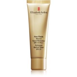 Elizabeth Arden Pure Finish tónovací krém SPF 15 odstín 04 Deep  50 ml