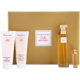 Elizabeth Arden 5th Avenue dárková sada IX. parfémovaná voda 75 ml + parfémovaná voda 3,7 ml + tělové mléko 100 ml + tělový krém 100 ml