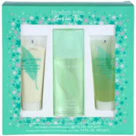Elizabeth Arden Green Tea ajándékszett XXIV. Eau de Parfum 100 ml + testápoló tej 100 ml + tusfürdő gél 100 ml