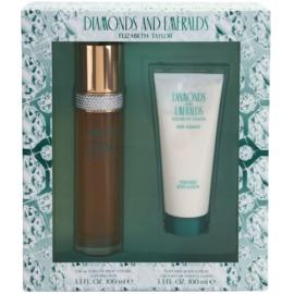 Elizabeth Taylor Diamonds and Emeralds Gift Set  I.  Eau de Toilette 100 ml + Body Lotion  100 ml