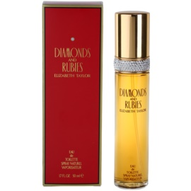 Elizabeth Taylor Diamonds and Rubies Eau de Toilette für Damen 50 ml
