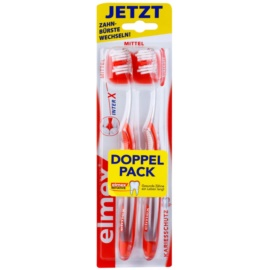 Elmex Caries Protection cepillos de dientes con cabezal corto medio 2 uds