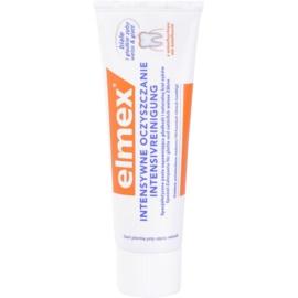 Elmex Intensive Cleaning pasta de dientes para dientes blancos y lisos  50 ml