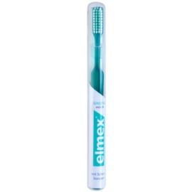 Elmex Sensitive kartáček pro citlivé zuby soft Dark Green
