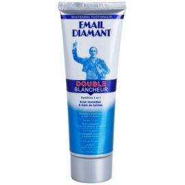 Email Diamant Double Blancheur bleichende Zahnpasta für ein strahlendes Lächeln  75 ml